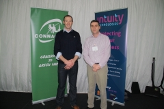 Brian from Connacht & Carl Blake