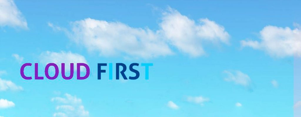 Cloud first approach to managed IT security graphic